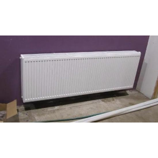 New Forced Hot Water Radiators Throughout