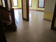 New dining hall flooring